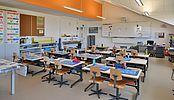 Construction d'un bâtiment scolaire, pré-scolaire et logements à Etagnières