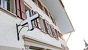 Rénovation de l'immeuble de la Croix-Blanche à Riaz pour M. Antoine Ackermann